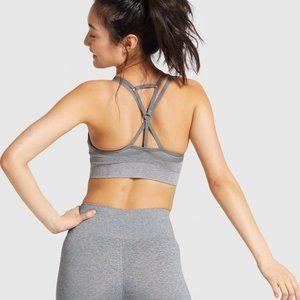 Gymshark Intimates & Sleepwear - Gymshark Adapt Marl Seamless Sports Bra in grey